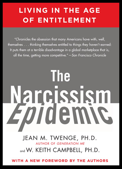 The Narcissism Epidemic - Dr  Jean Twenge